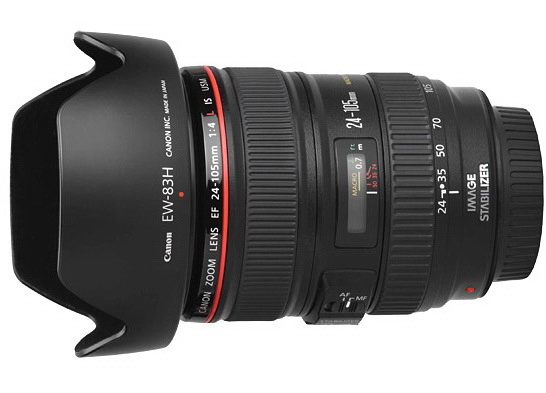 2012 Canon EF 24-105mm F4.0 L IS USM