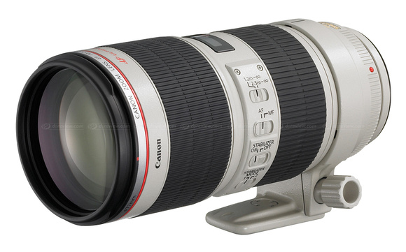 2010 Canon EF 70-200mm f/2.8L IS II USM